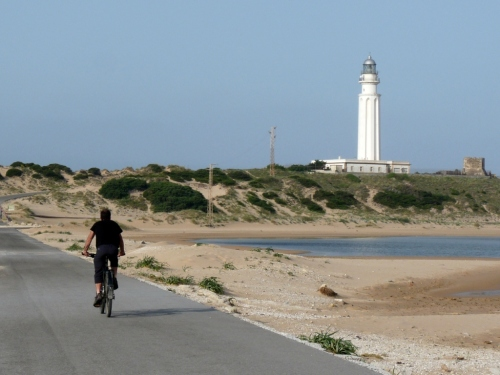 Early morning ride to the lighthouse.