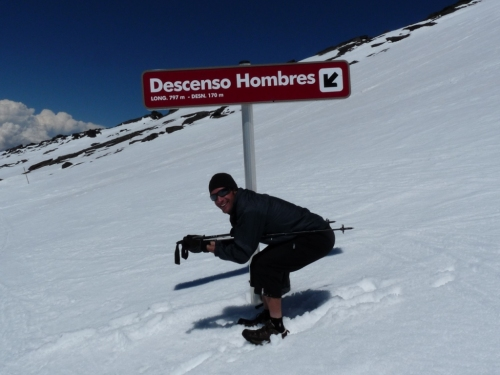 Clearly, this is descent is reserved for MEN, and the sign tells you so!